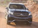 Фото авто Mercedes-Benz GLS-Класс X166,  цвет: черный