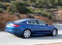 Фото авто Jaguar XF X250, ракурс: 270 цвет: синий