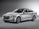 Фото авто Hyundai Genesis 2 поколение, ракурс: 45 цвет: серебряный