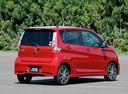 Фото авто Mitsubishi eK B11 [рестайлинг], ракурс: 225 цвет: красный