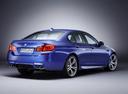 Фото авто BMW M5 F10, ракурс: 225 цвет: синий