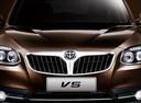 Фото авто Brilliance V5 1 поколение, ракурс: передняя часть цвет: коричневый