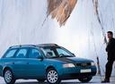 Фото авто Audi A6 4B/C5, ракурс: 315 цвет: синий