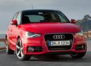 Фото авто Audi A1 8X,  цвет: красный