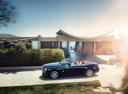 Фото авто Rolls-Royce Dawn 1 поколение, ракурс: 90 цвет: синий