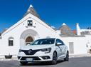 Фото авто Renault Megane 4 поколение, ракурс: 45 цвет: белый