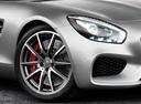 Фото авто Mercedes-Benz AMG GT C190, ракурс: колесо цвет: серый