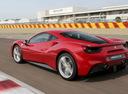 Фото авто Ferrari 488 1 поколение, ракурс: 135 цвет: красный