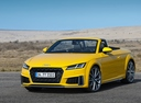 Фото авто Audi TT 8S [рестайлинг], ракурс: 45 цвет: желтый