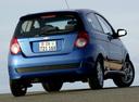Фото авто Chevrolet Aveo T250 [рестайлинг], ракурс: 225 цвет: синий