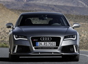 Фото авто Audi RS 7 4G,  цвет: серый