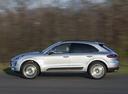 Фото авто Porsche Macan 1 поколение, ракурс: 90 цвет: серебряный