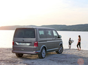 Фото авто Volkswagen Multivan T6, ракурс: 225 цвет: бежевый