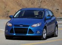 Фото авто Ford Focus 3 поколение, ракурс: 45 цвет: синий
