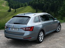 Фото авто Skoda Superb 3 поколение, ракурс: 225 цвет: серый
