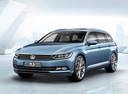 Фото авто Volkswagen Passat B8, ракурс: 45 цвет: синий
