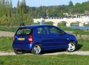 Фото авто Kia Picanto 1 поколение, ракурс: 225 цвет: синий