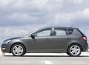 Фото авто Kia Cee'd 1 поколение [рестайлинг], ракурс: 90 цвет: серый