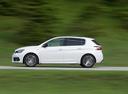 Фото авто Peugeot 308 T9 [рестайлинг], ракурс: 90 цвет: белый