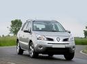 Фото авто Renault Koleos 1 поколение, ракурс: 315 цвет: серебряный