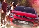 Фото авто Citroen C4 Picasso 2 поколение,  цвет: красный