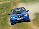 Фото авто Subaru Impreza 2 поколение [2-й рестайлинг],  цвет: синий