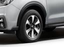 Фото авто Subaru Forester 4 поколение [рестайлинг], ракурс: колесо цвет: серебряный