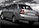 Фото авто ВАЗ (Lada) Priora 1 поколение, ракурс: 135 цвет: серебряный