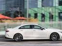 Фото авто Mercedes-Benz CLS-Класс C257, ракурс: 270 цвет: белый