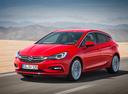 Фото авто Opel Astra K, ракурс: 45 цвет: красный