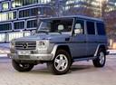 Фото авто Mercedes-Benz G-Класс W463 [рестайлинг], ракурс: 45 цвет: серебряный