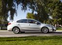 Фото авто Subaru Impreza 4 поколение, ракурс: 270 цвет: серебряный