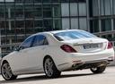 Фото авто Mercedes-Benz S-Класс W222/C217/A217 [рестайлинг], ракурс: 135 цвет: белый