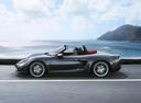 Фото авто Porsche Boxster 982, ракурс: 90 цвет: мокрый асфальт