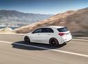 Фото авто Mercedes-Benz A-Класс W177/V177, ракурс: 135 цвет: белый