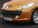 Фото авто Peugeot 207 1 поколение, ракурс: передняя часть цвет: коричневый