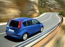 Фото авто Nissan Note E11, ракурс: 225 цвет: синий