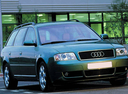 Фото авто Audi A6 4B/C5, ракурс: 315 цвет: зеленый