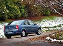 Фото авто Renault Logan 1 поколение [рестайлинг], ракурс: 225 цвет: синий