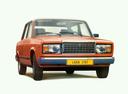 Фото авто ВАЗ (Lada) 2107 1 поколение, ракурс: 0 - рендер цвет: красный