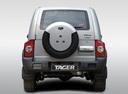 Фото авто ТагАЗ Tager 1 поколение, ракурс: 180 цвет: серебряный