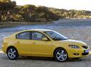 Фото авто Mazda 3 BK, ракурс: 270 цвет: желтый