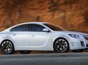 Фото авто Opel Insignia A, ракурс: 270 цвет: белый
