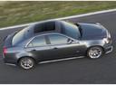 Фото авто Cadillac CTS 2 поколение, ракурс: сверху цвет: серый