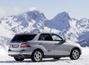 Фото авто Mercedes-Benz M-Класс W166, ракурс: 225 цвет: серый