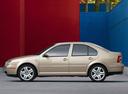 Фото авто Volkswagen Jetta 4 поколение, ракурс: 90 цвет: бежевый