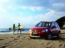 Фото авто Suzuki SX4 1 поколение, ракурс: 45 цвет: бордовый
