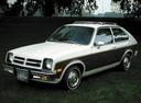 Фото авто Chevrolet Chevette 1 поколение, ракурс: 45
