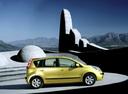 Фото авто Nissan Note E11, ракурс: 270 цвет: желтый
