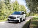 Фото авто Mercedes-Benz GLS-Класс X166, ракурс: 45 цвет: белый